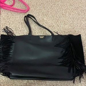 Victoria Secret tote bag with fringes